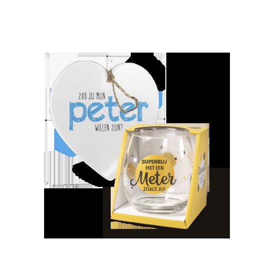 Wijnglas hartje voor jou cadeau groothandel miko