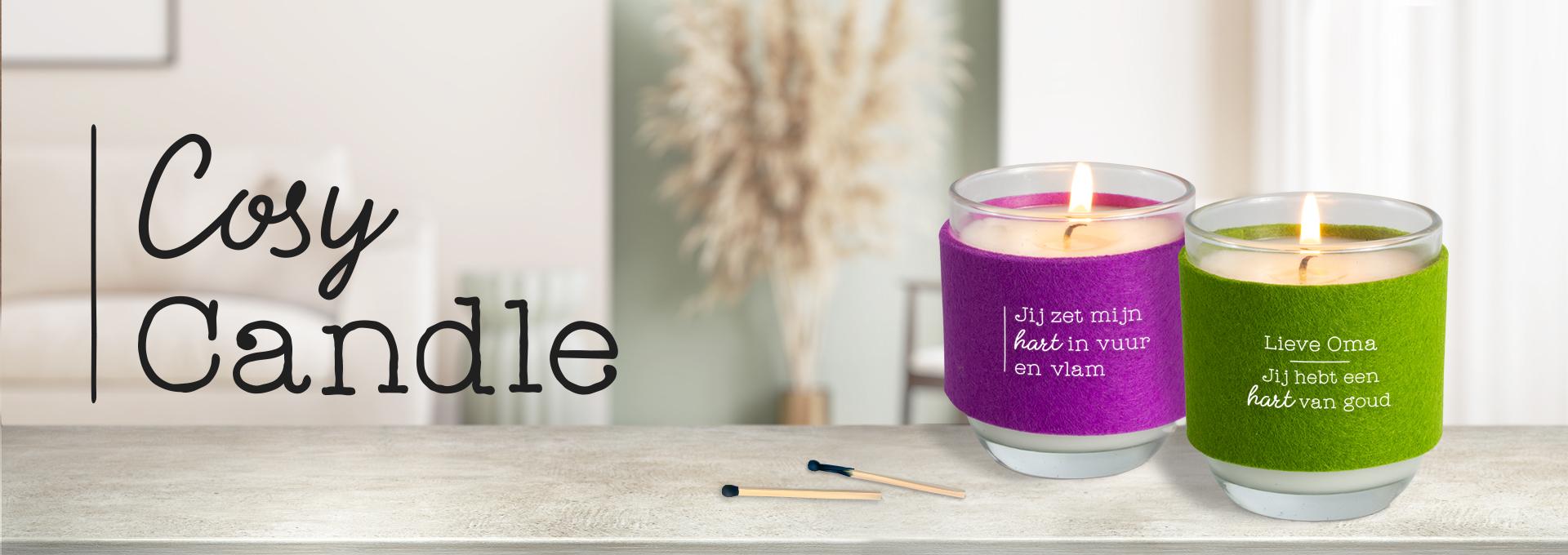 Kaars Candle Cosy Candle Groothandel Cadeau Verlichting Decoratie